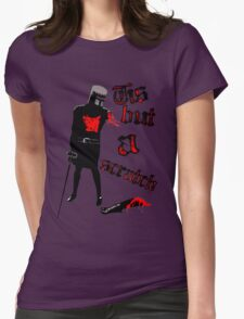 Tis but a scratch - Monty Python's - Black Knight Womens T-Shirt