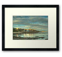 Evening Sun - Crail Harbour Framed Print