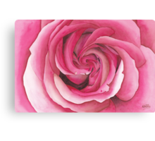 Vertigo Rose Canvas Print