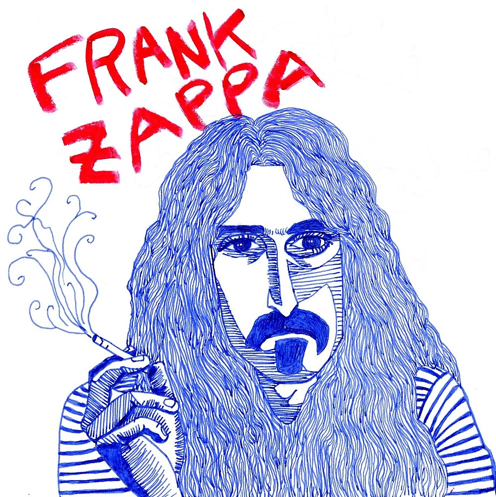 Frank Zappa by iwantajuicer