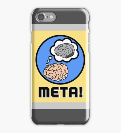 Metacognition iPhone Case/Skin