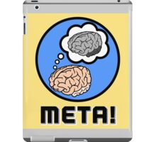 Metacognition iPad Case/Skin