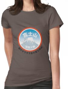 Fuji San Womens Fitted T-Shirt