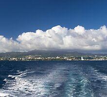 Caribbean Island Panorama by cinema4design