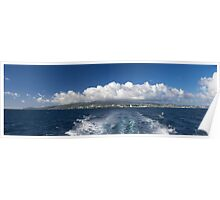Caribbean Island Panorama Poster