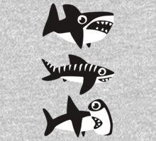 Dumb Sharks One Piece - Long Sleeve