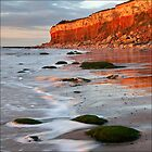 Hunstanton cliffs at Sunset, Norfolk by DaveTurner