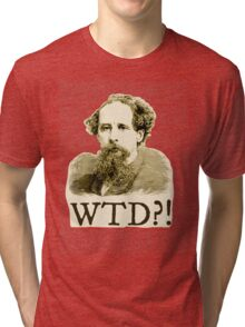 What The Dickens?! Tri-blend T-Shirt