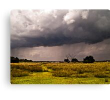 Storm Clouds are Gathering Suffolk Canvas Print