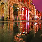 Reflections of a London Rainy Night - Covent Garden by DavidGutierrez