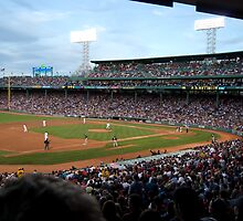 Fenway Park at Dusk by Bill Parmentier