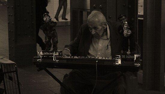 Old Man Entertaining V2 by C Rodriguez