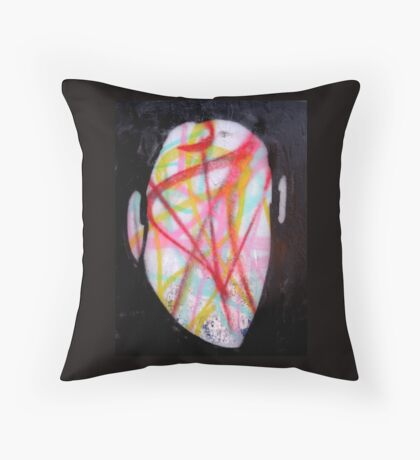 The Man Whose Head Expanded Throw Pillow