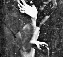 a self-portrait-as inspired by David Lynch by ShellyKay