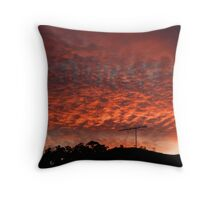 Sunrise Clouds Throw Pillow