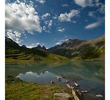 a lake ... Photographic Print