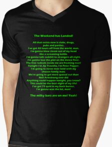 The Weekend Has Landed - Human Traffic Mens V-Neck T-Shirt
