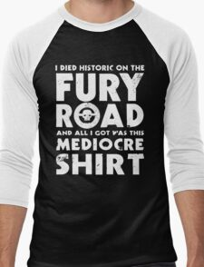 Mediocre Shirt Men's Baseball ¾ T-Shirt