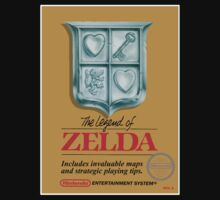 ZELDA NES Box cover by ruter