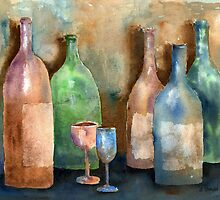 Bottles by arline wagner