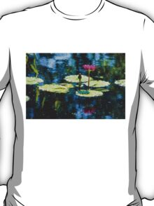 Waterlily Impressions - Dreaming of Monet Gardens T-Shirt