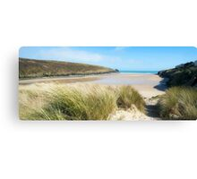 Porthcothan Bay,North Cornwall Canvas Print