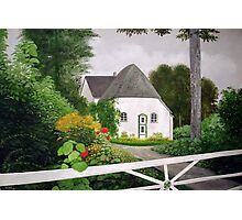 COTTAGE IN THE GARDEN Photographic Print