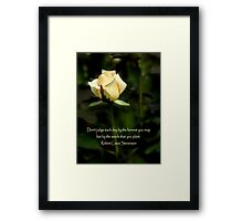 The Harvest And The Seeds Framed Print
