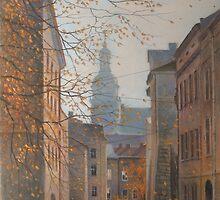 Place In Old City by Vera Kalinovska