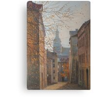Place In Old City Canvas Print