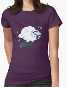 Bear diver Womens Fitted T-Shirt