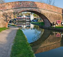 Foxton lock, looking through by Elaine123