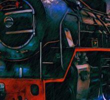 .....train Sticker