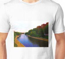 Brush Creek, Kansas City Tilt Shift Unisex T-Shirt