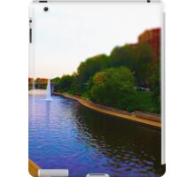 Brush Creek, Kansas City Tilt Shift iPad Case/Skin