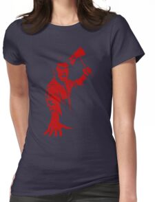 Ash / Axe Womens Fitted T-Shirt