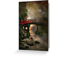 Bridge in Japan Greeting Card