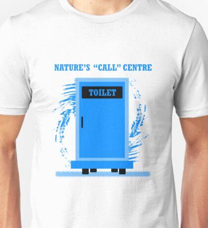 Nature Call Centre Unisex T-Shirt