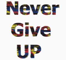 Never Give Up  by JamieOSullivan