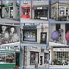 Collage of shopfronts by David  Barker