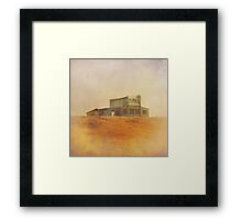 Once Upon a Time a House Framed Print