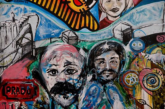 Street art on the Prado in Havana, Cuba by buttonpresser
