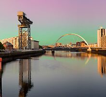 Glasgow clyde panorama by Grant Pennycook