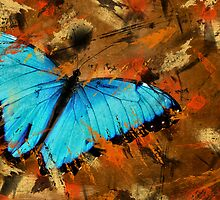 Abstract With Wings by Maria Dryfhout