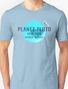 Revolve in peace pluto T-Shirt
