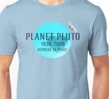 Revolve in peace pluto Unisex T-Shirt