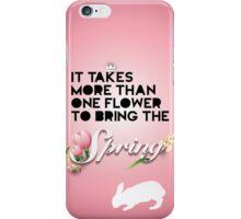Spring C iPhone Case/Skin