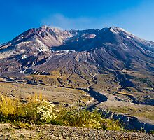Mount St. Helens by RavenFalls
