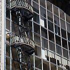 fancy fire escape,san francisco,Sutter street by califpoppy1621