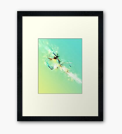 theSweetness Framed Print